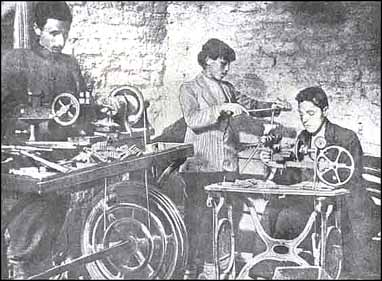 Armenian women helped with manufacturing bullets