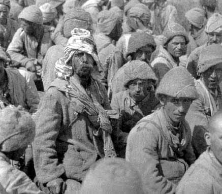 Turkish POWs, 1917