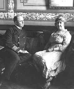 Admiral Bristol and his wife at the American