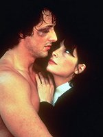 Talia Shire as Adrian, in 1976's ROCKY... with Sylvester Stallone, as Rocky