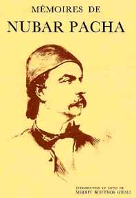 "Boghos Nubar on the cover of his book, ""Memoirs"""