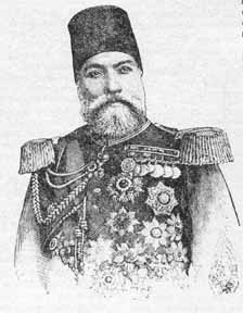 Osman Pasha in later years