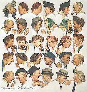 "The worth of Armenian Oral History: Norman Rockwell's ""The Gossips"""